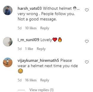 मुंबई पुलिस ने विवेक ओबेरॉय को बाइक चलाते हुए हेलमेट नहीं पहनने के लिए उकसाया