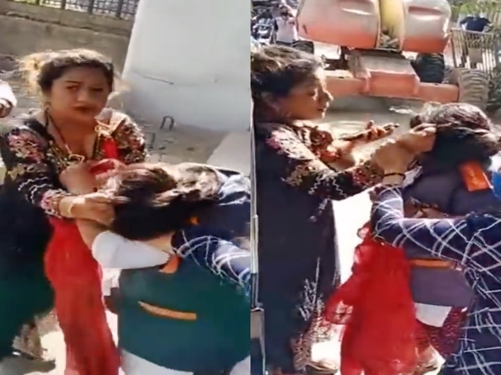 WATCH | Shocking! Mumbai Woman Assaults BMC Worker When Asked To Wear Mask Or Pay Fine