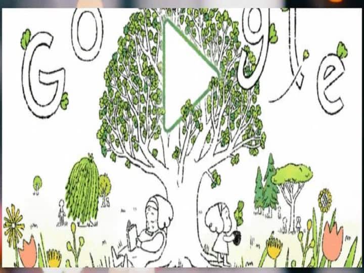 International Earth Day 2021: Google created a special Doodle on the occasion of Earth Day, this cute message