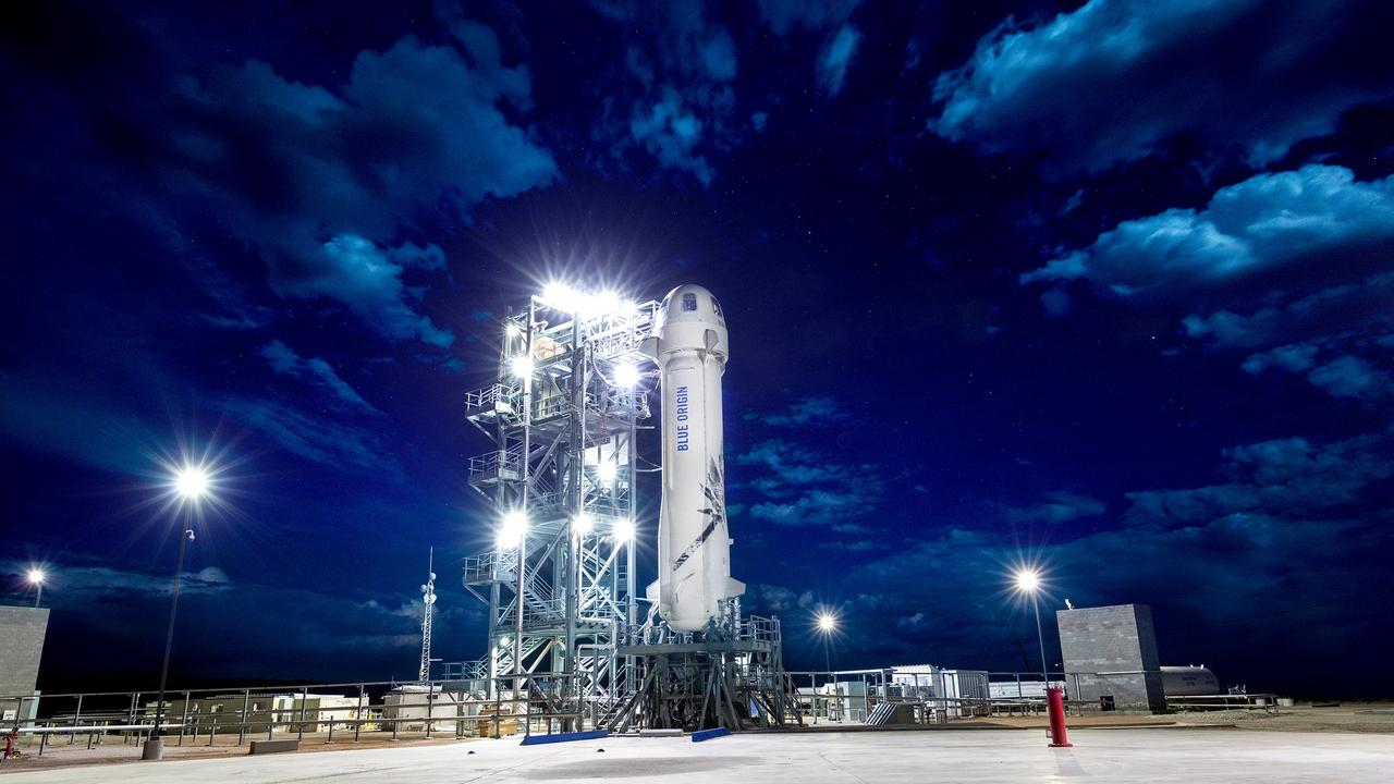 Jeff Bezos' Space Venture Blue Origin Will Fly First Crew To Space In July