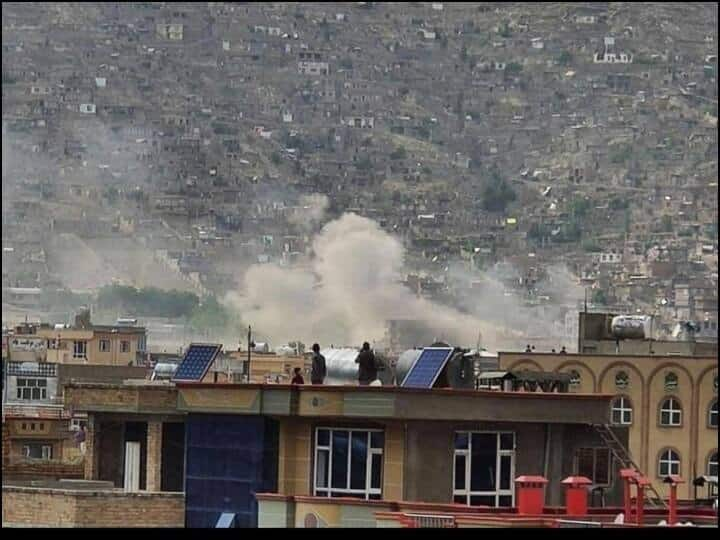 A bomb blast near a school in Kabul, Afghanistan, has killed at least 25 people, including several students