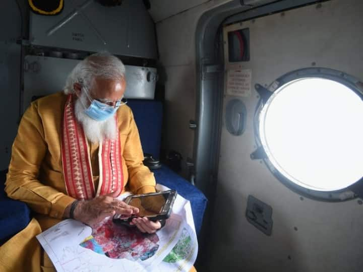 Cyclone Yaas: PM Modi Conducts Aerial Survey Of Affected Areas In Odisha & WB; Financial Aid Of Rs 1000 Cr Announced