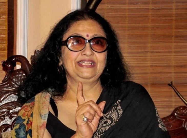 Leena Chandavarkar was Kishore Kumar's fourth wife, widowed at the age of 37