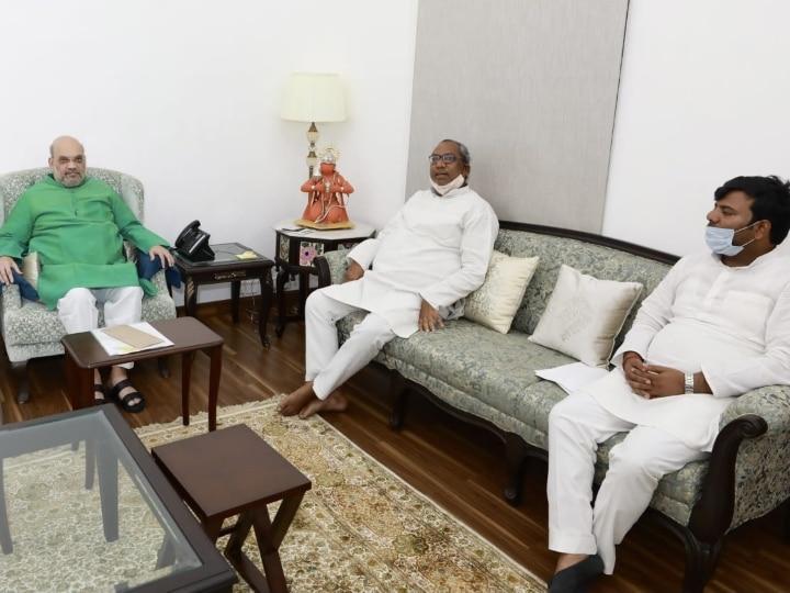 CM Yogi, Anupriya Patel and Sanjay Nishad met Amit Shah separately, speculation of cabinet expansion intensified