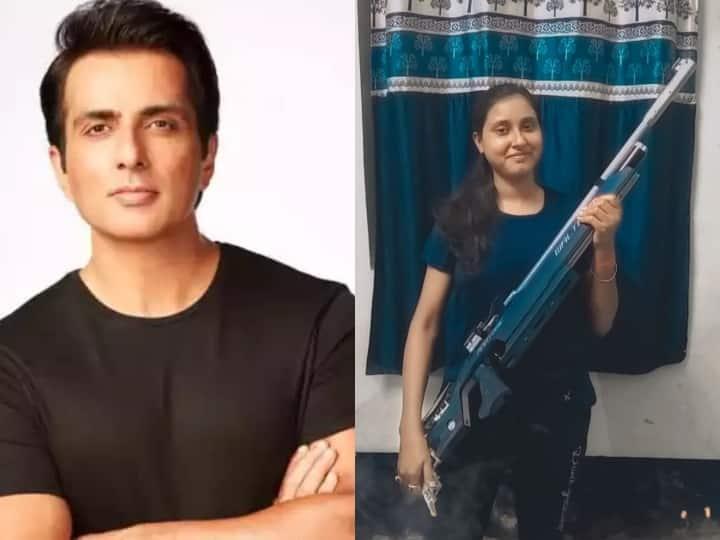 सोनू सूद ने झारखंड की शूटर को गिफ्ट की इम्पोर्टेड राइफल, फिर जीता फैंस का दिल