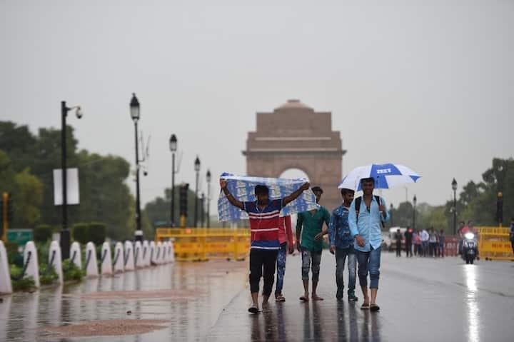 Delhi Monsoon Update: दिल्ली में आज हो सकती है झमाझम बारिश, लगातार तीन दिन बरसात का पूर्वानुमान