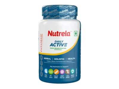 Fill Your Daily Needs Vitamins, Minerals, Amino Acids And Herbal Extracts With Nutrela Daily Active Multivitamin Capsules