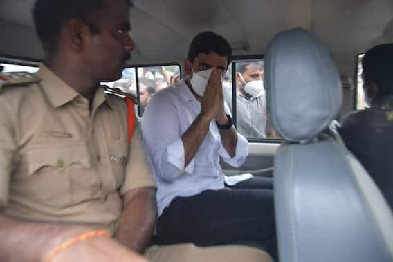 Nara Lokesh Arrested, Pics: నారా లోకేశ్ అరెస్టు.. రమ్య ఇంటి వద్ద తీవ్ర ఉద్రిక్తత, పలువురు నేతల్ని బలవంతంగా..