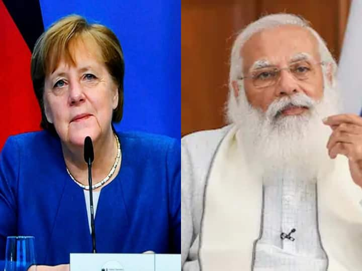 Prime Minister Narendra Modi talks with German Chancelow Angela Markel bilateral issues including Afghanistan
