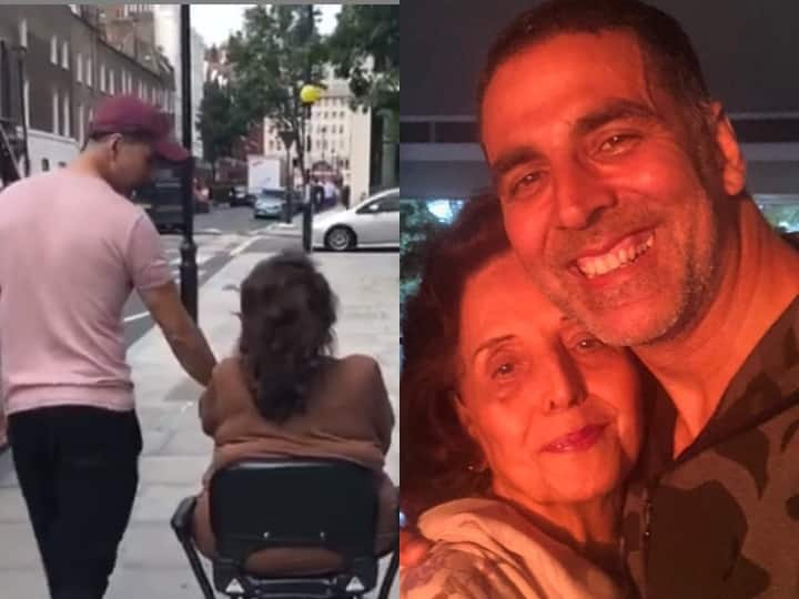 Akshay Kumar Mother Death: No matter how busy he was, Akshay Kumar used to take time for his mother, this video is proof of that : News Daily India