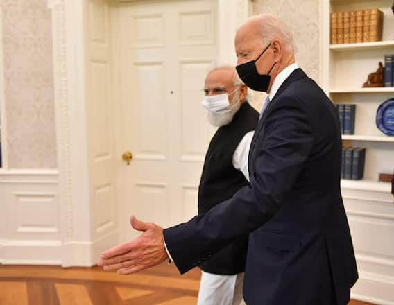 PM Modi US Visit: క్వాడ్ శిఖరాగ్ర సదస్సులో పాల్గొన్న మోదీ, బైడెన్, స్కాట్ మోరిసన్, యోషిహిడె సుగా