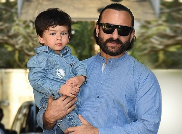 What changes occurred in Taimur Ali Khan after the birth of Brother Jehangir Ali Khan?  Saif Ali Khan said this